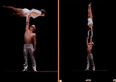 Partnerakrobatik Show