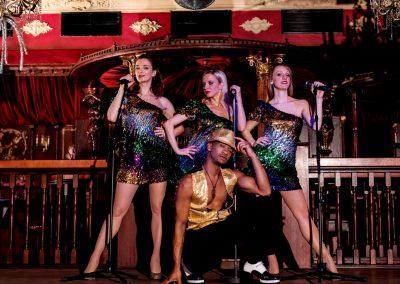 Disco Inferno mit ihrer Discoshow