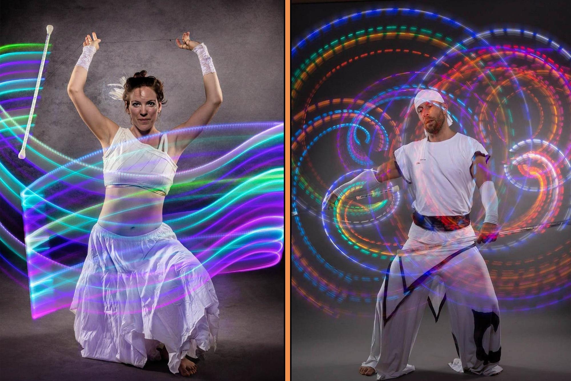 LED Show bzw. Lichtshow für jede Veranstaltung indoor oder outdoor