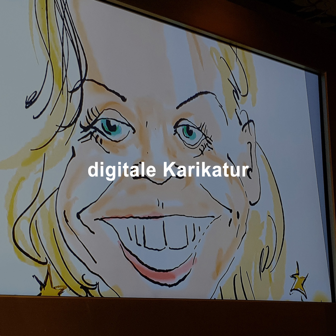 Karikaturisten zeichnen ihre Karikaturen analog am Blatt oder digital am IPAD