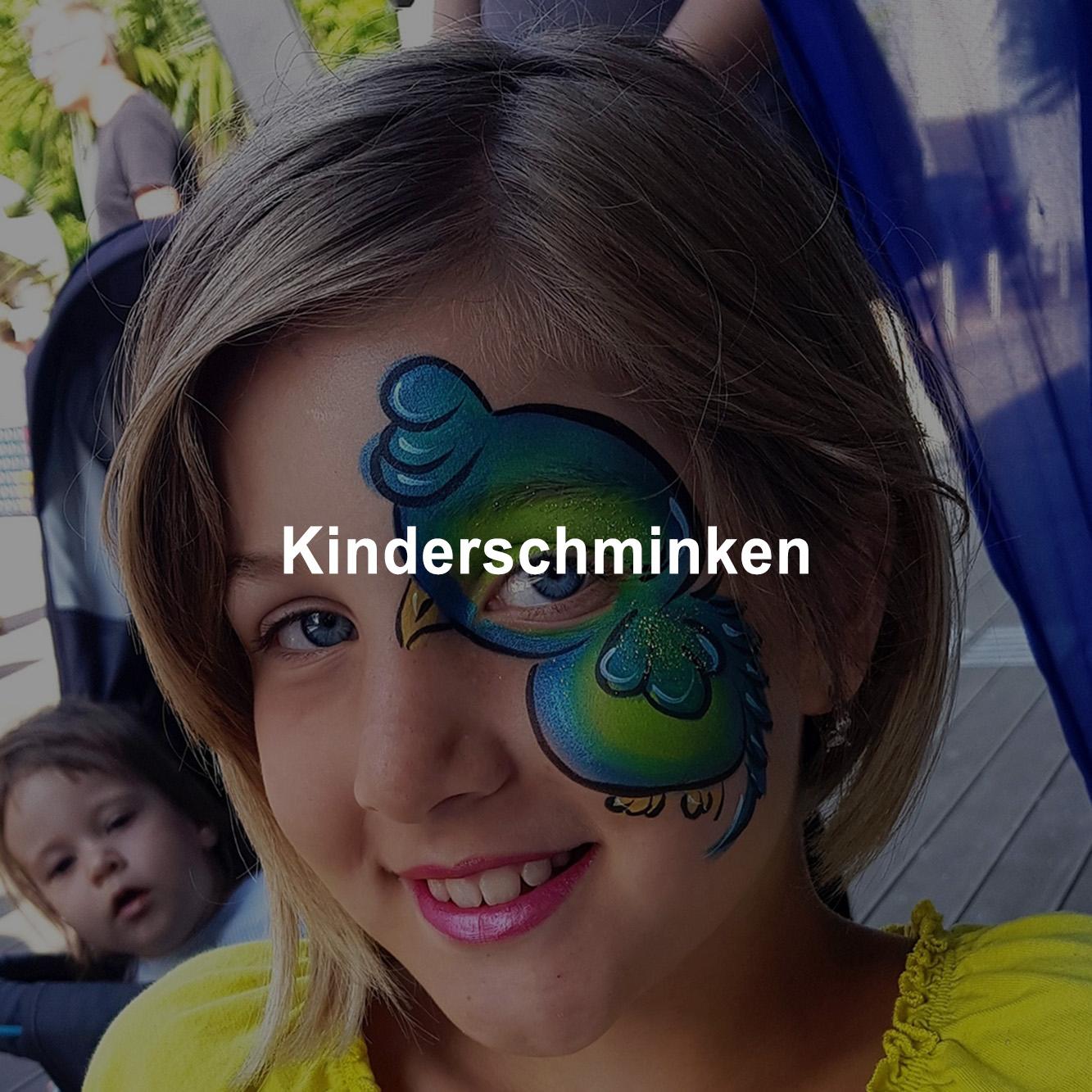 Kinderschminken ist immer ein besonderes Highlight bei jeder Veranstaltung in Wien und ganz Österreich